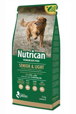 NutriCan Senior Light 3kg new 70911