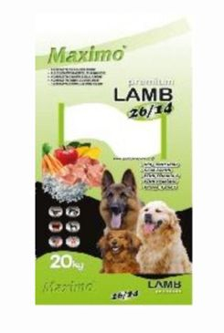 Delikan Dog Premium Maximo Lamb 20kg 47702