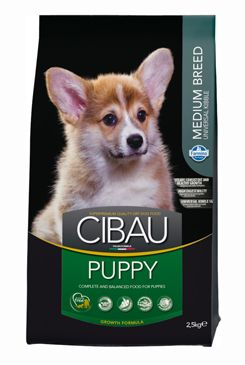 Cibau (Farmina Pet Foods) CIBAU Puppy Medium 2,5kg 63566