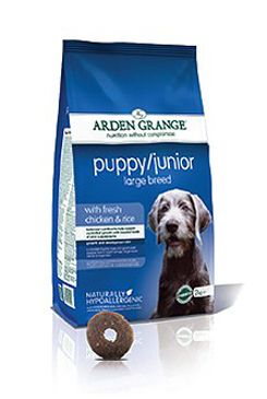 Arden Grange Puppy/Junior Large Breed 2kg 52759